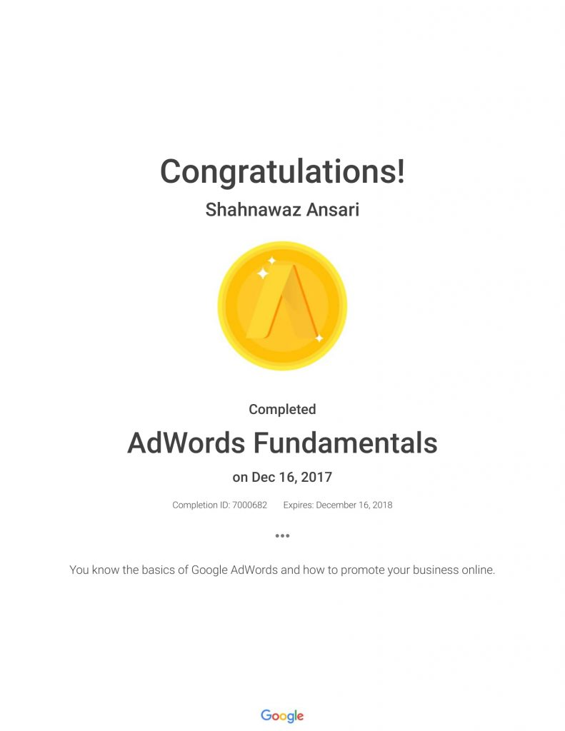 Academy for Ads_ AdWords Fundamentals